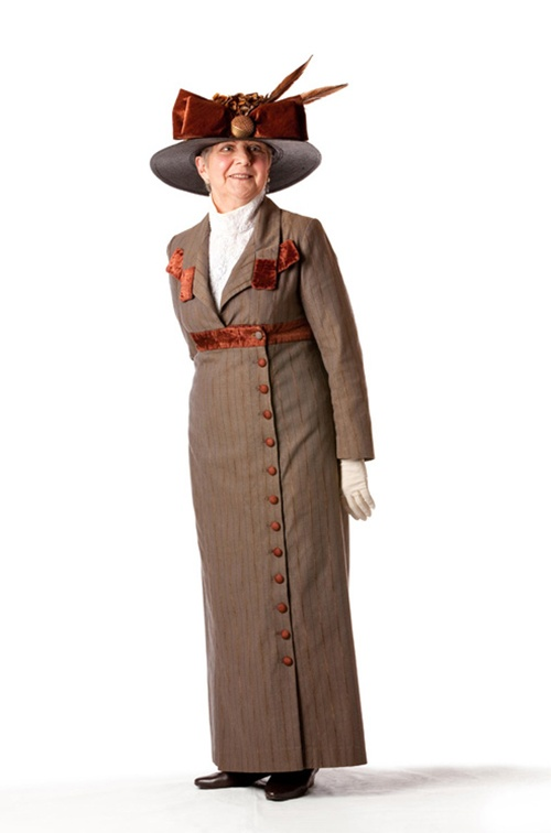 Brown Edwardian Ensemble - Size 12