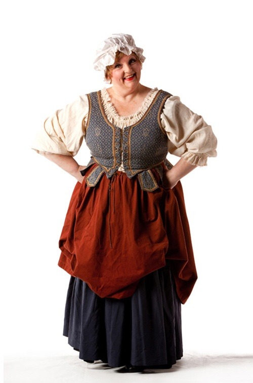 Blue & Rust Wench - Size 20/22