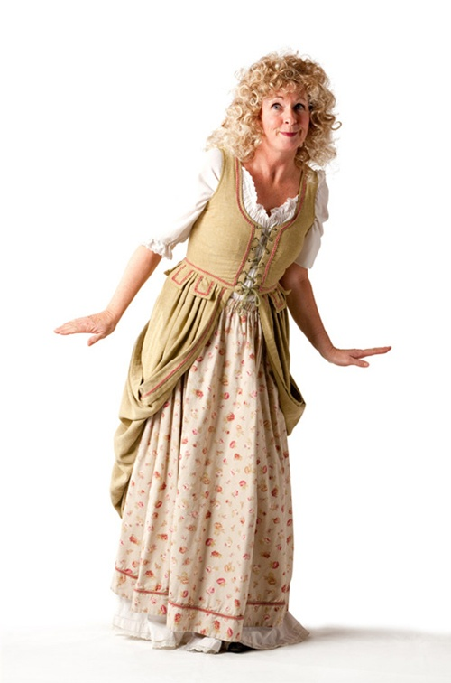 Pink Rose 18th Century Wench - Size 12