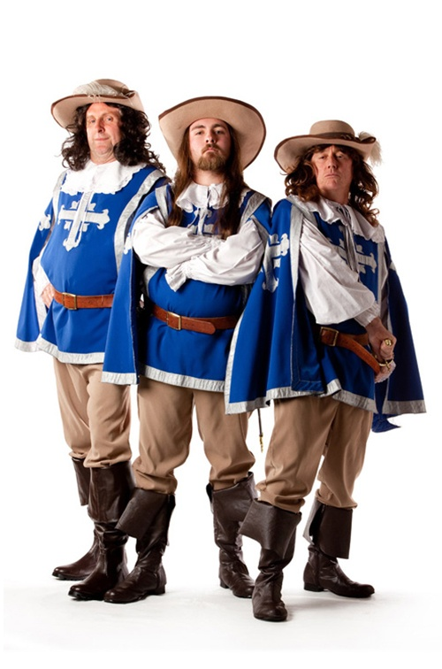 The Three Musketeers - Sizes M/L