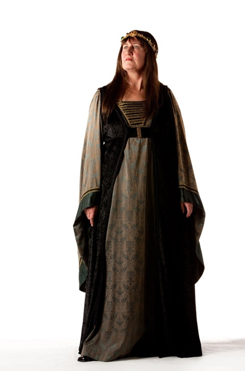 Green & Black Medieval - Size 20/22