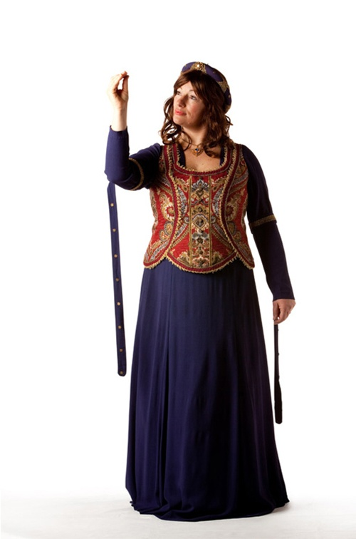 Blue Tapestry Medieval - Size 18+