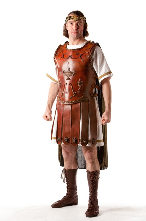 Roman Officer in leather - Size large