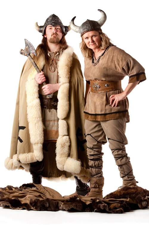Viking Male & Female - Vikings available SM/XL