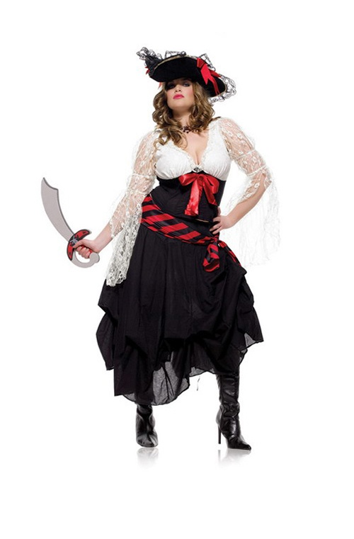 5 Pc Gold Dubloon Pirate. Top, Skirt, Petticoat, Sash & Hat. Sizes 14/16 & 16/18