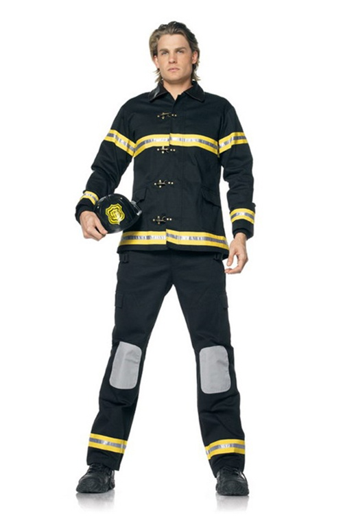 "3 Pc Fireman. Jacket, Helmet & Trousers. Sizes 38"" & 40"""