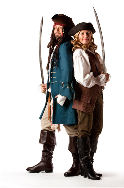 Capt Jack & Elizabeth - Elizabet in Sizes 12 & 14
