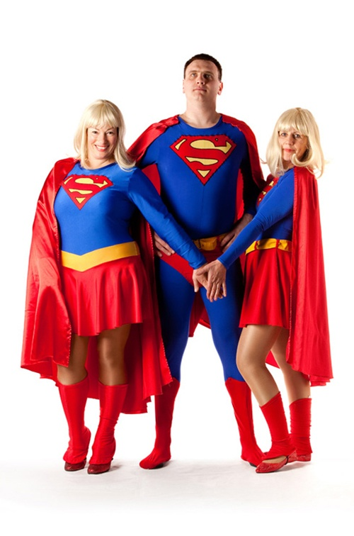 Superman & Friends - Supergirl Sizes 10/12, 12/14 & 16