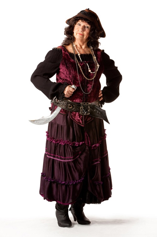 Purple Pirate Wench - Size 18/20